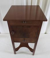 19th Century Georgian Mahogany Pot / Bedside Cupboard (2 of 13)