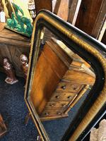 Lovely Antique French 19th Ebonised & Gilt Mirror c.1840 (3 of 5)