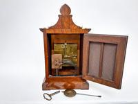 Burr Walnut Mantle Clock (3 of 7)