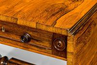 Regency Period Rosewood Sofa Table with Turned Stretcher (4 of 6)