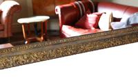 Gilt Large 19th Century Overmantle or Wall Mirror (7 of 9)