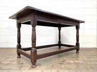18th Century Antique Joined Oak Table (3 of 10)
