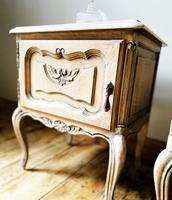 French Limed Oak Bedside Tables / Bedside Cabinets / Nightstands (3 of 4)