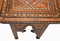Arabic Chair Antique Damascan Furniture Inlay 1920 (5 of 10)