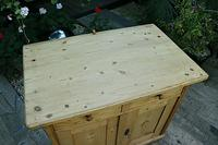 A Rare, Old Pine Sideboard/ Cupboard/ Desk/ Baby Changing Unit (7 of 11)