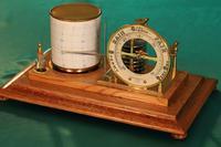 Short & Mason Tycos Drum Barograph and Barometer No H 5431 c1930 (4 of 13)