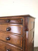 Antique Welsh Oak & Mahogany Chest of Drawers (12 of 15)