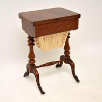 Antique Victorian Walnut Games / Chess Table (12 of 12)