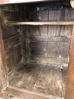 17th Century Welsh Oak Cwpwrdd Deuddarn (9 of 10)