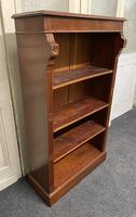 Mahogany Open Bookcase (6 of 11)