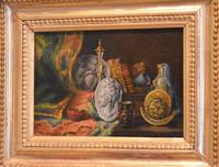 Pair of Still-life Oil Paintings by A Bonnefoy (9 of 13)