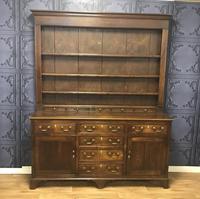 Georgian Period Oak Welsh Dresser