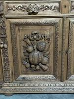 Magnificent French Carved Oak Hunting Sideboard (8 of 23)