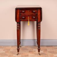 19th Century Mahogany Pembroke Work Table (3 of 13)