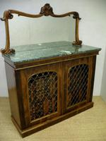 Victorian Rosewood Side Cabinet by W&C Wilkinson