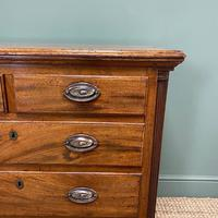 Country Georgian Mahogany Antique Chest of Drawers (4 of 7)