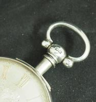 Antique Silver Pair Case Pocket Watch Fusee Lever Escapement Key Wind Silver Huntly & Losstemouth – A SimpsonAntique Silver Pair Case Pocket Watch Fusee Lever Escapement Key Wind Silver Huntly & Losstemouth – A Simpson (10 of 11)