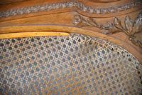 Small Double 4ft Carved French Bed (3 of 13)