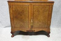Burr Walnut Side Cabinet (2 of 7)