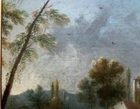 **Near Inverary** 18th Century Thomas Gainsborough Period Landscape Oil Painting (10 of 13)