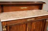 19th Centruy Marble Top Mahogany Chiffonier Sideboard (6 of 8)