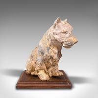 Antique Decorative West Highland Terrier, British, Westie Dog, Edwardian c.1910 (4 of 12)