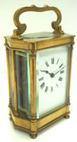 Rare & Unusual Cased Antique French 8-day Timepiece Carriage Clock c.1900 (2 of 10)