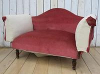 Antique French Sofa Chaise Longue (7 of 9)