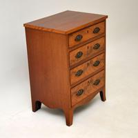 Small Antique George III Mahogany Chest of Drawers (5 of 8)