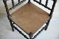 Antique Turned Corner Chair (3 of 8)