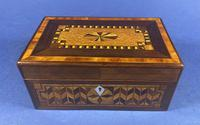 Victorian Rosewood Box With Inlay (11 of 17)
