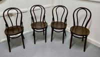 Set of 4 Bistro Bentwood Chairs (2 of 5)