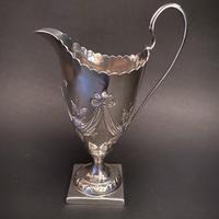 Silver Georgian Pedestal Creamer (5 of 5)
