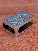 Antique Sterling Silver Heavy Hallmarked  Matchbox Case , 1890 Samuel Walton Smith (12 of 12)