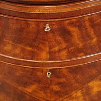 Edwardian Small Serpentine Chest (10 of 10)