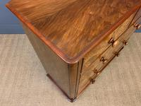 Victorian Burr Walnut Chest of Drawers (9 of 13)
