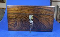 Victorian Rosewood Jewellery Box (17 of 17)