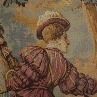 Antique Verdure Tapestry, French, Decorative Panel, Wall Covering, Victorian (10 of 12)