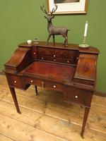 Antique 19th Century Carlton House Desk Mahogany Writing Table of Immense Character (28 of 30)