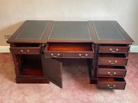 Large Georgian Style Double Sided Partners Desk (34 of 51)