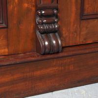 Victorian Mahogany 3 Door Wardrobe from Ayton Castle (9 of 12)