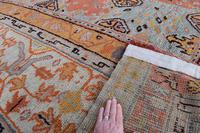 Massive Antique Ushak Carpet 597x525cm (12 of 13)