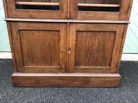 Arts & Crafts Glazed Oak Bookcase (3 of 11)