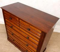 Walnut Chest of Drawers 19th Century (6 of 12)