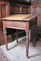 Antique pine school desk (3 of 5)
