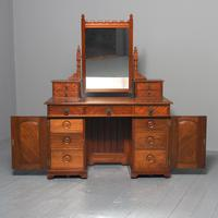 Victorian Gothic Revival Walnut Dressing Table (2 of 16)