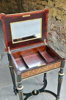 Superb French Inlaid Side Table/Work Table (6 of 18)
