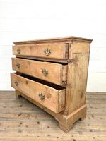 Rustic Antique Pine Chest of Drawers (9 of 10)