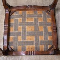 Mahogany Victorian Footstool (9 of 9)