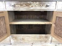Pitch Pine Sideboard with Four Cupboards (6 of 10)